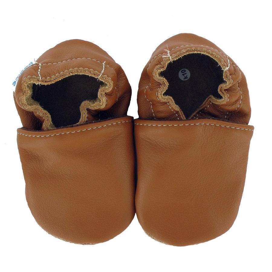 BaBice Kojenecké boty UNI nougat