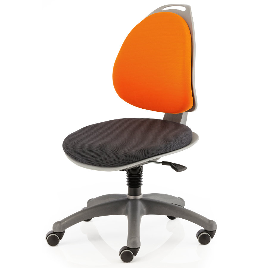 KETTLER Chaise de bureau BERRI, Orange/Anthracite 6722-089