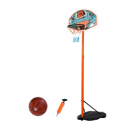 HOMCOM Basketballständer mit Ball mehrfarbig
