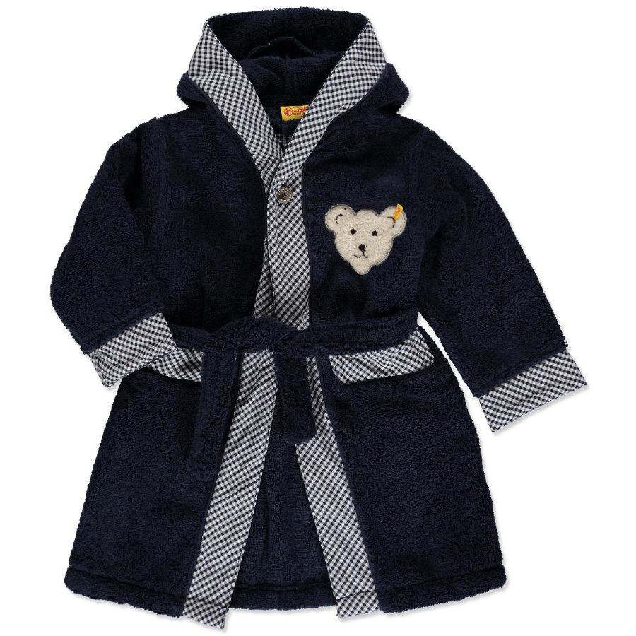 STEIFF Mini Bathrobe navy