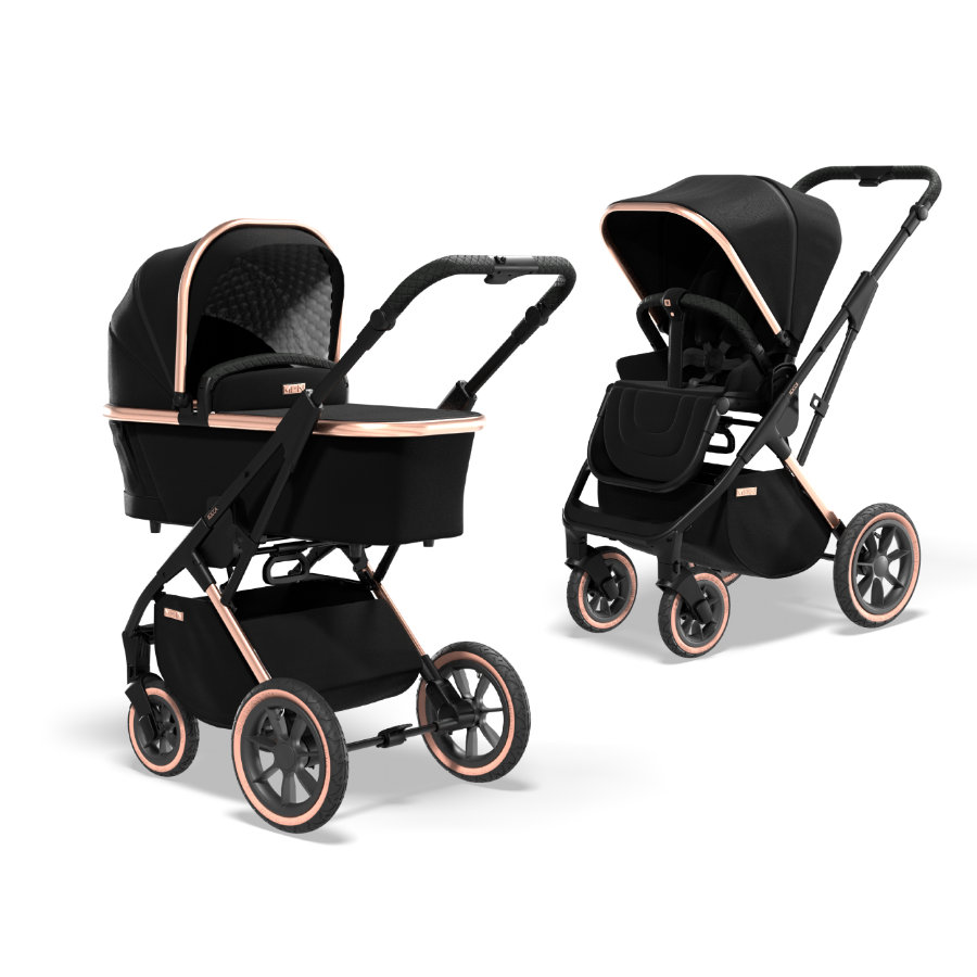 MOON Combi kinderwagen Rocca Limited Edition Rose Gold Collection 2022