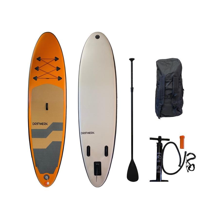 Nautic SUP Driftwerk Allround-Board Orange