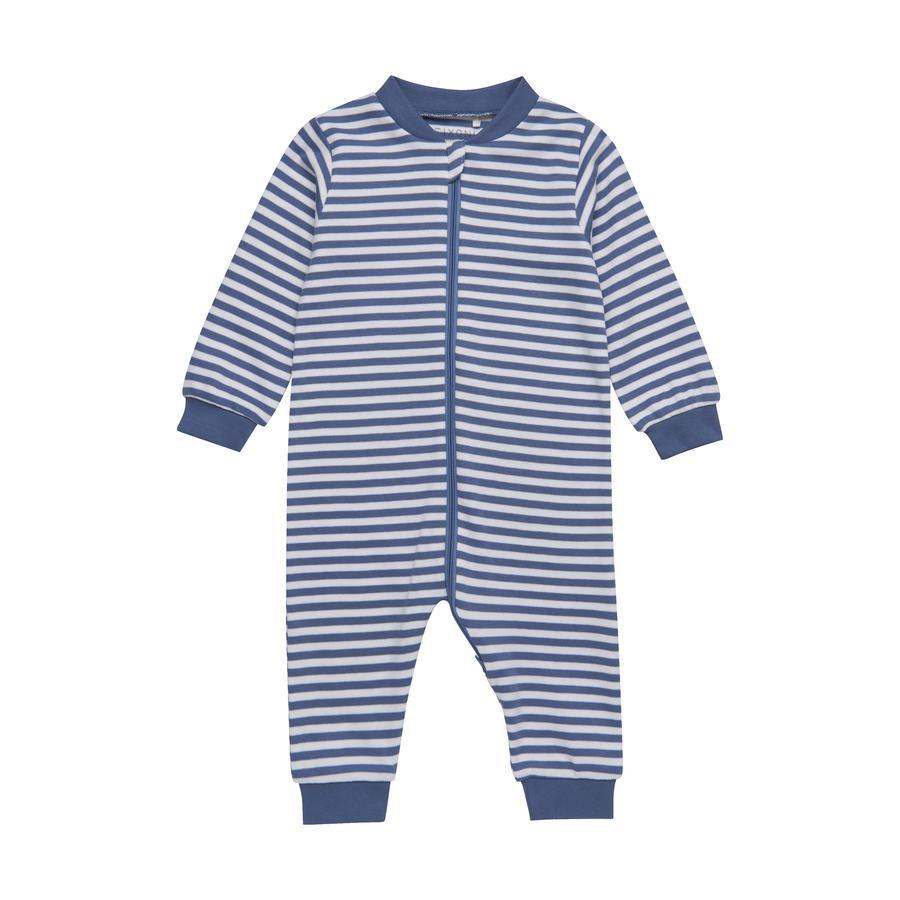 FIXONI Strampler China blue Stripe