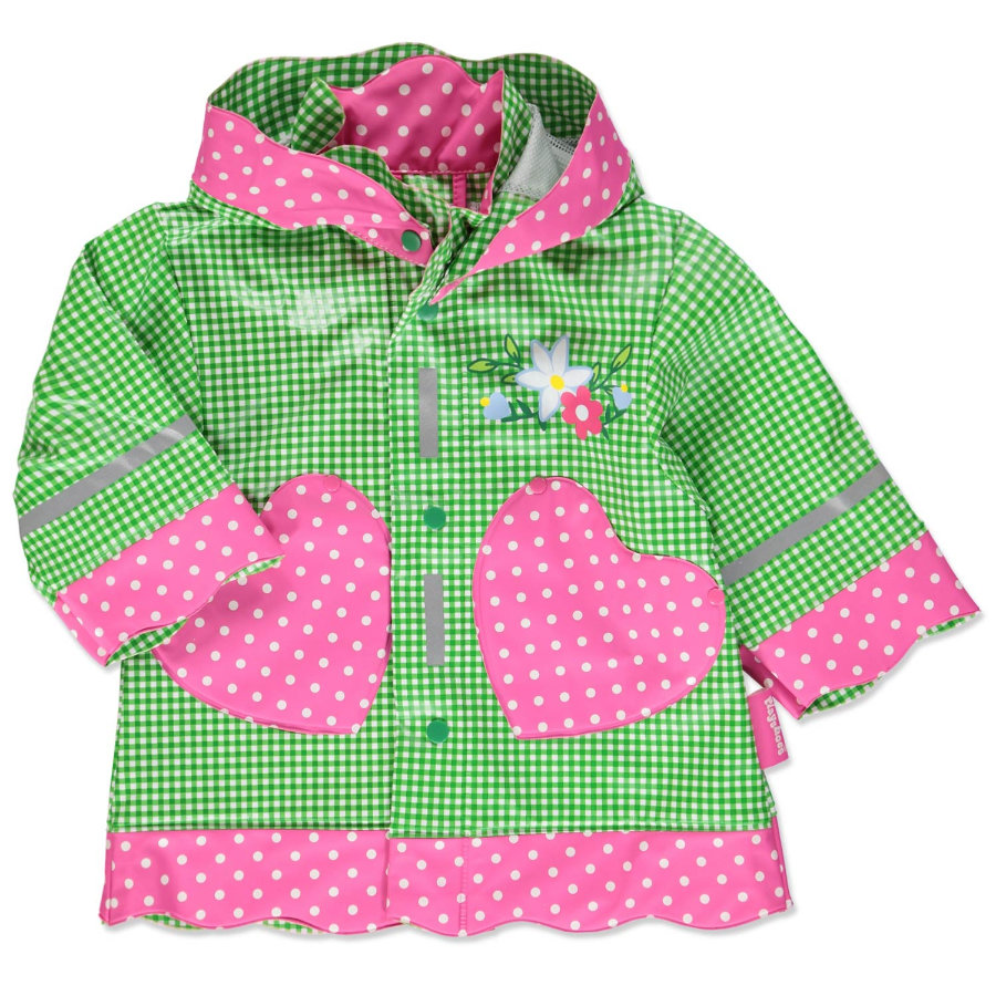 PLAYSHOES Płaszcz przeciwdeszczowy LANDHAUS kolor zielony
