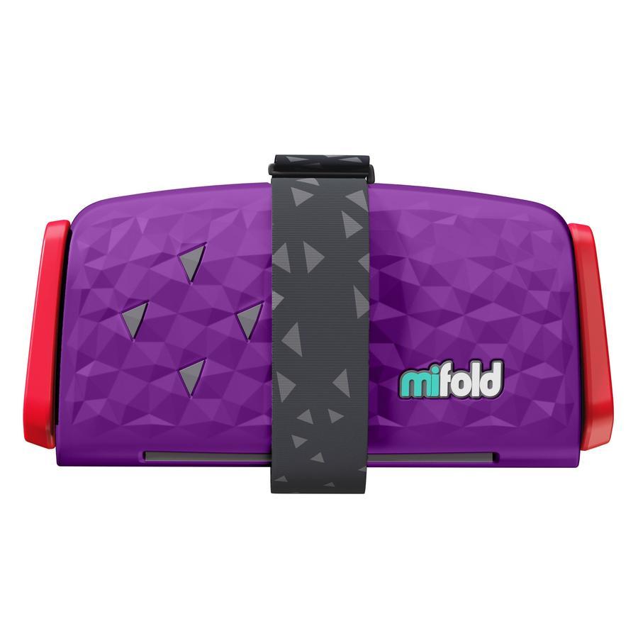 mifold Kindersitzerhöhung Comfort Grab-and-Go Booster royal purple