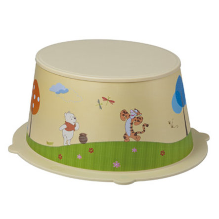 Rotho Babydesign Kinderschemel StyLe! Winnie the Pooh creme