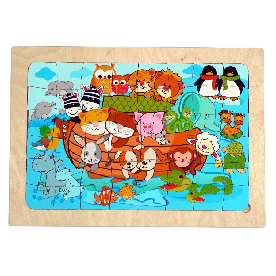 HESS Puzzle - Noas Ark 16 dele