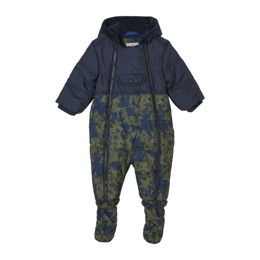 s.Oliver Schneeoverall green