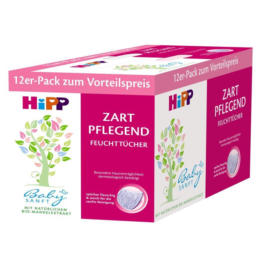 HiPP Babysanft Feuchttücher Zart Pflegend 12 x 56 Stück