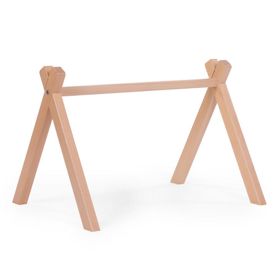 CHILDHOME Tipi Play Gym Holz, natur