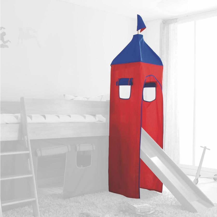 Relita Turm Set klein blau / rot