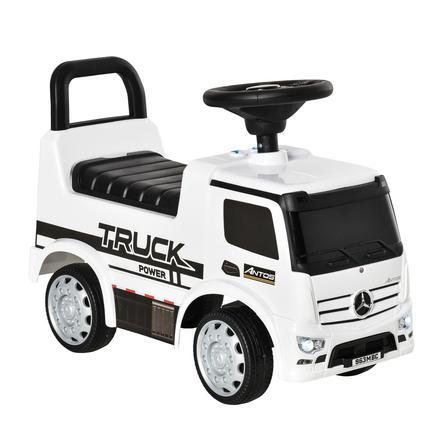 HOMCOM Rutscherfahrzeug als LKW weiß, schwarz