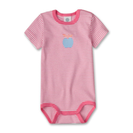 SANETTA Girls Baby Body 1/4 Arm rosé