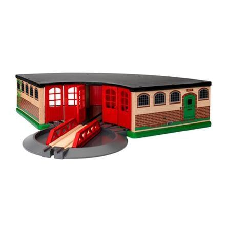 BRIO Velká stodola na lokomotivu