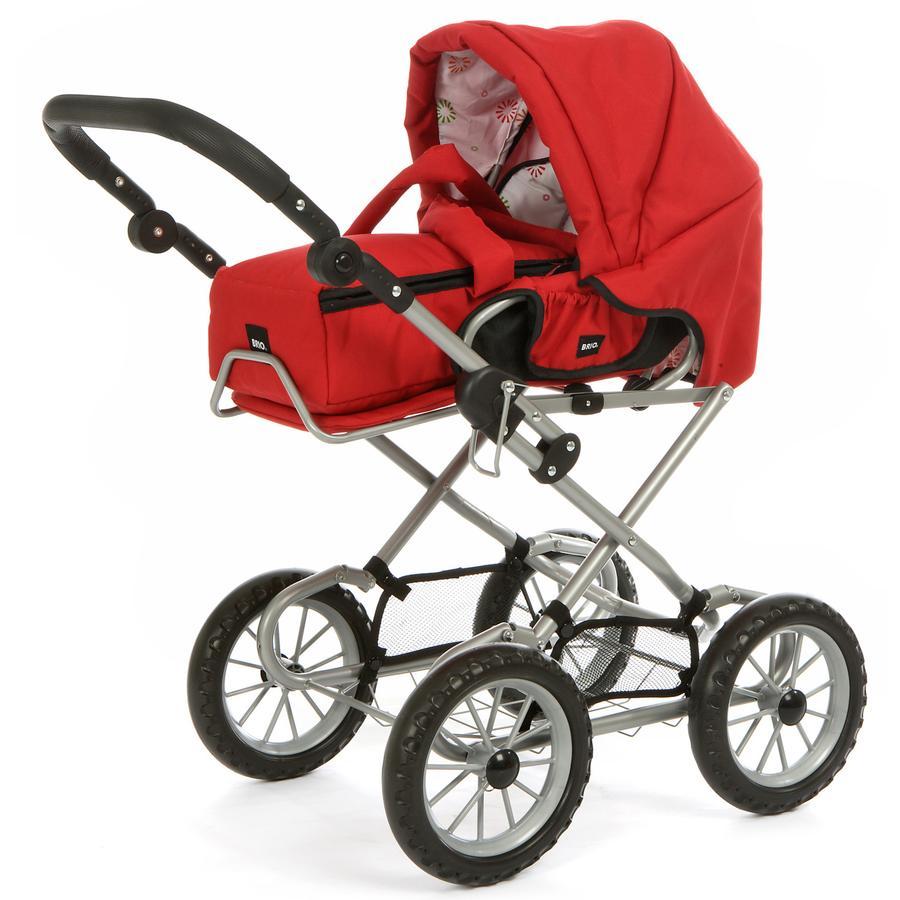 BRIO Puppenwagen, rot