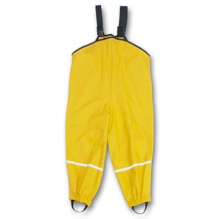 PLAYSHOES Pantalones de lluvia - amarillo