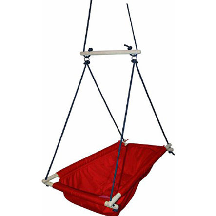 ROBA Hangstoel rood