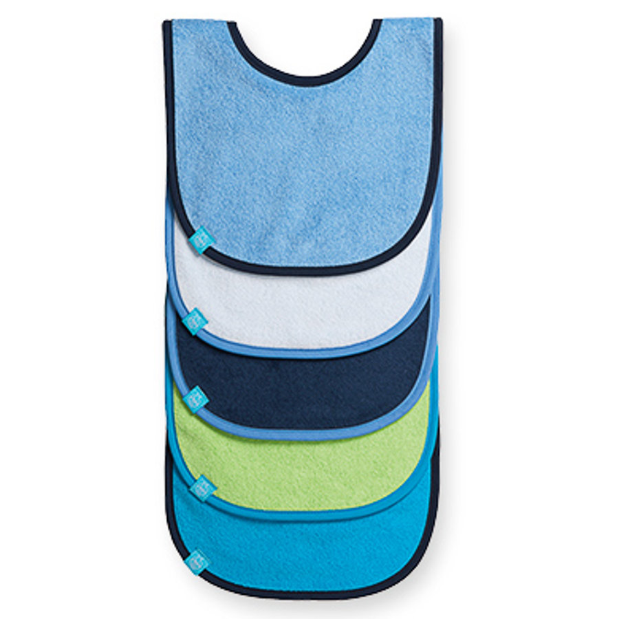 LÄSSIG small Bib - Blue