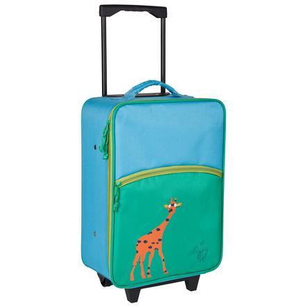 LŽSSIG Cestovní dětský kufr, Trolley, žirafa