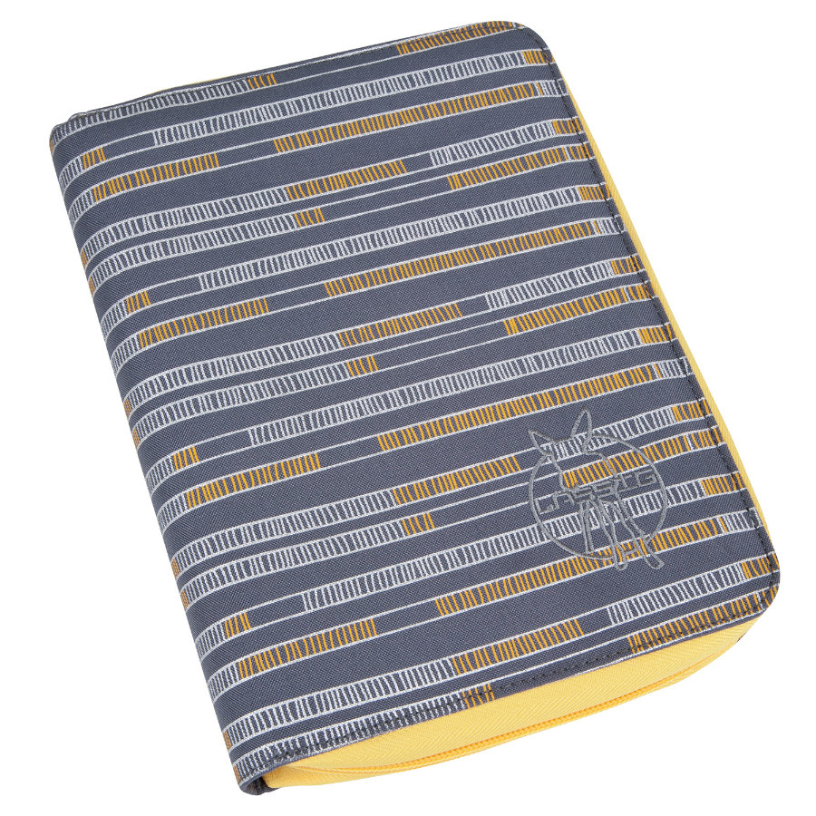 LÄSSIG Goldlabel Document Pouch Design yellow