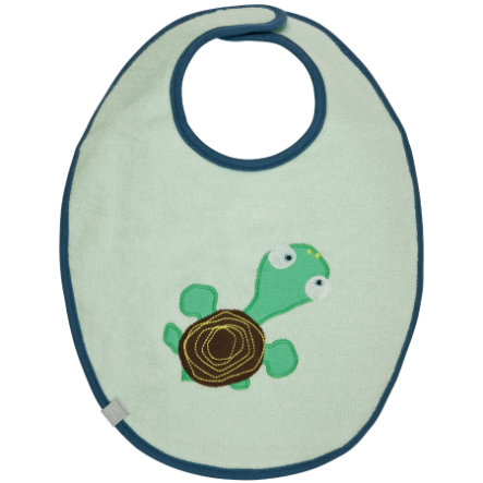 LÄSSIG Waterproof Bib medium, Wildlife Turtle