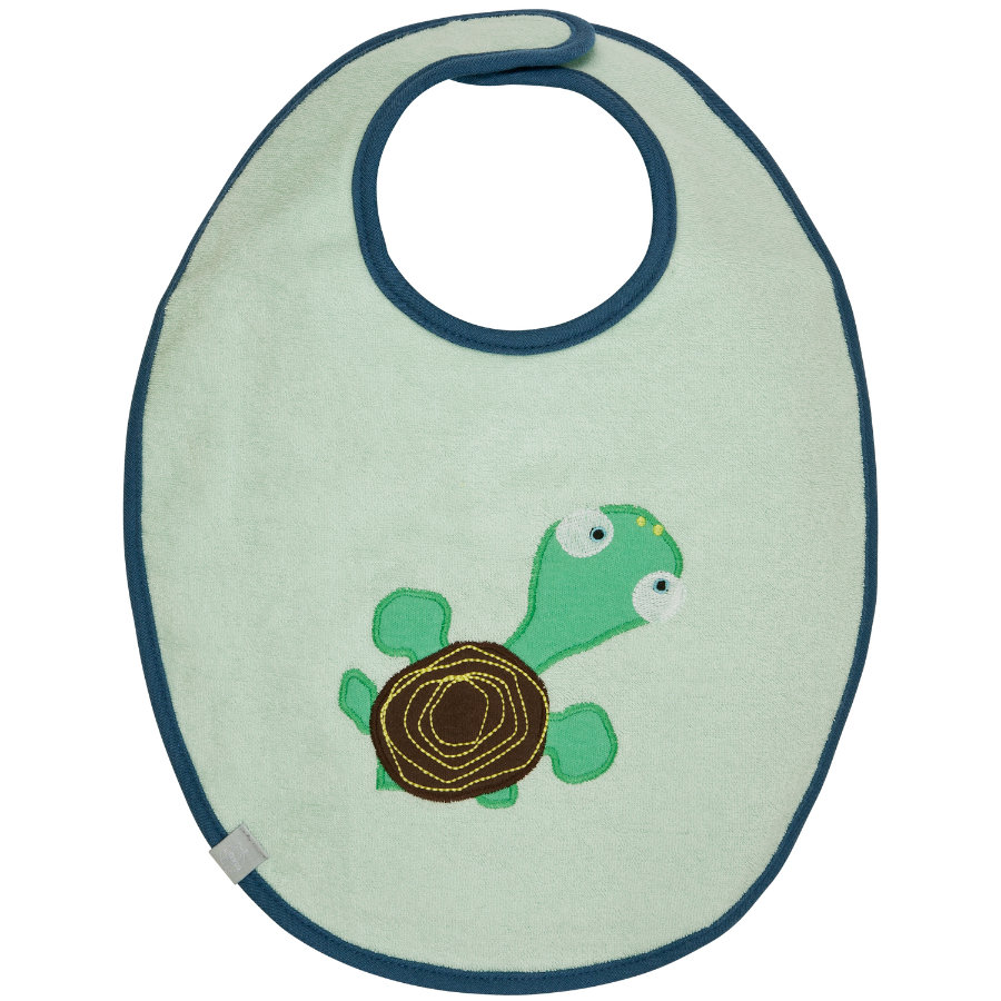 LÄSSIG Slabbetje waterproof medium Wildlife Turtle