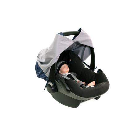 Ullenboom WIGGYBOO - Stillschutz und Abdeckung für Babyschale Blau