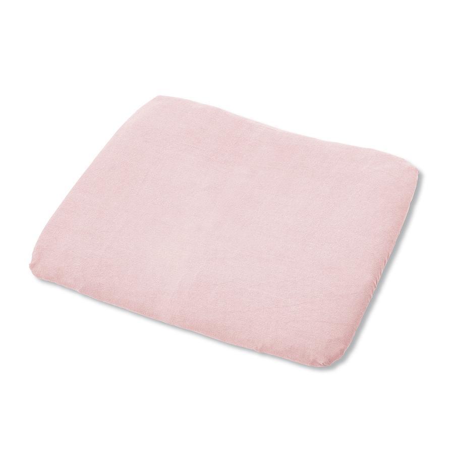 PINOLINO Frottee Bezug für Wickelauflagen rosa