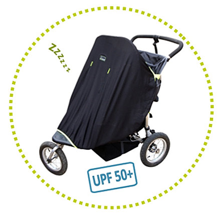 SNOOZE SHADE Twin Kinderwagen Abdunklungstuch