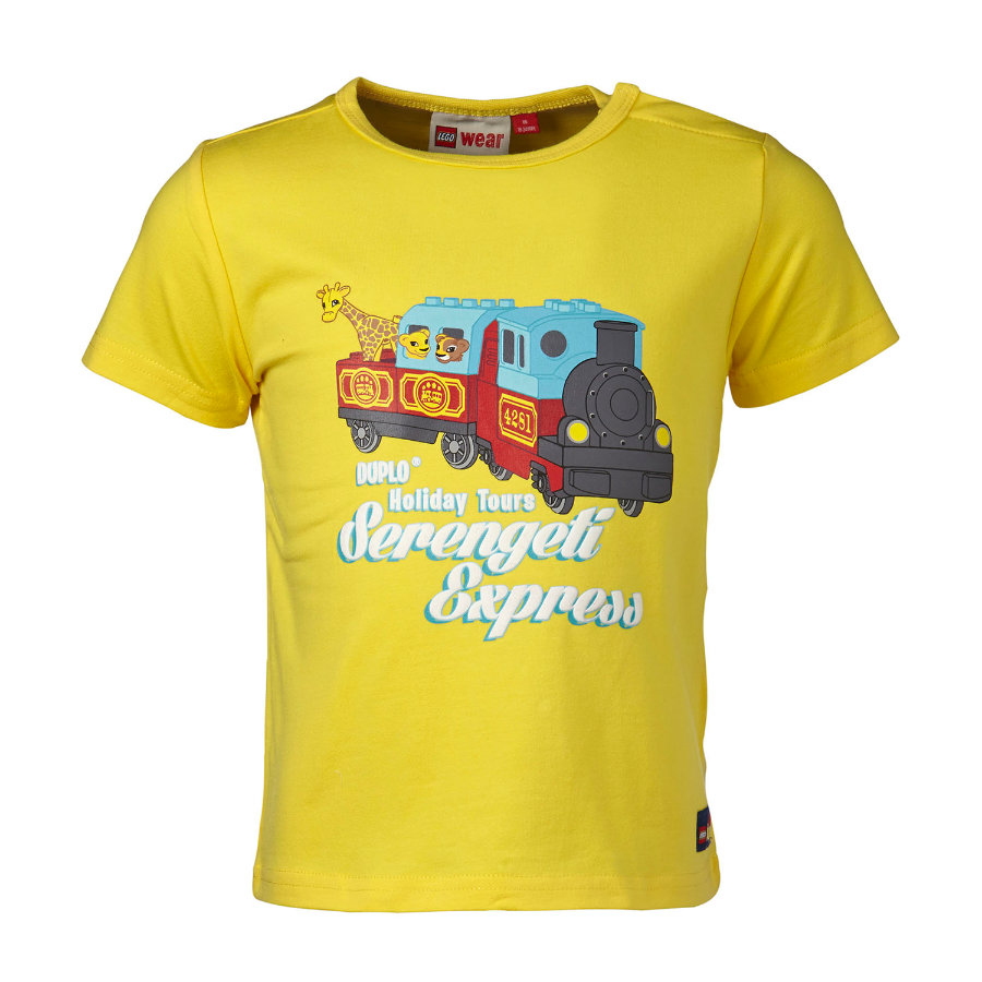 LEGO WEAR Duplo Boys T-shirt TOD 501, citron