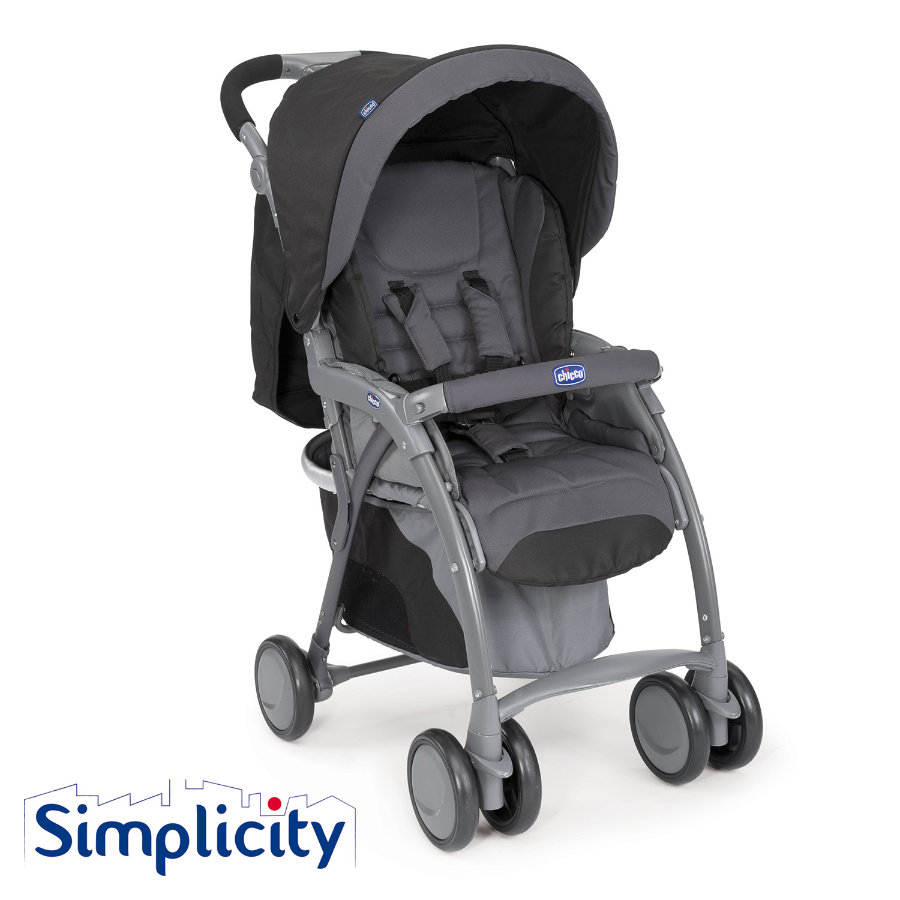 CHICCO Sportwagen Simplicity Plus Top ANTHRACITE