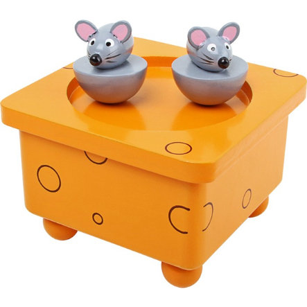 LEGLER Hrací hračka, tancující myšky
