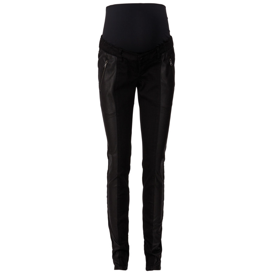 MAMA LICIOUS Pantalon Jeans Stretch de grossesse ABBELONE black