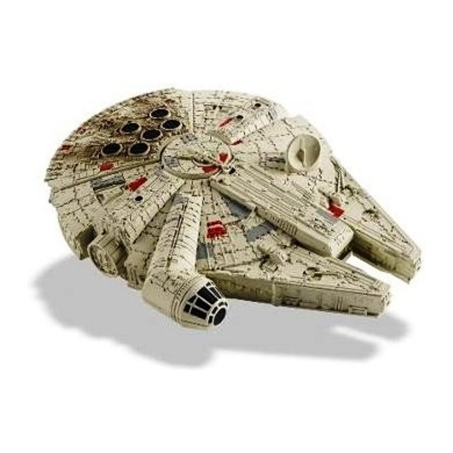 hasbro star wars sw command millennium falcon. Black Bedroom Furniture Sets. Home Design Ideas
