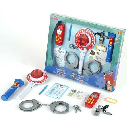 KLEIN Set de policía 9 piezas