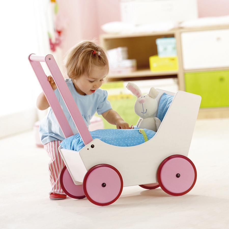 HABA Doll Stroller / Pram Flowers