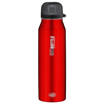 ALFI Lahev isoBottle, z ušlechtilé oceli, 0,5 l Design PURE, červená