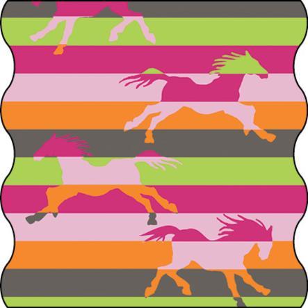 LÄSSIG Foulard TWISTER - Cavallo selvaggio