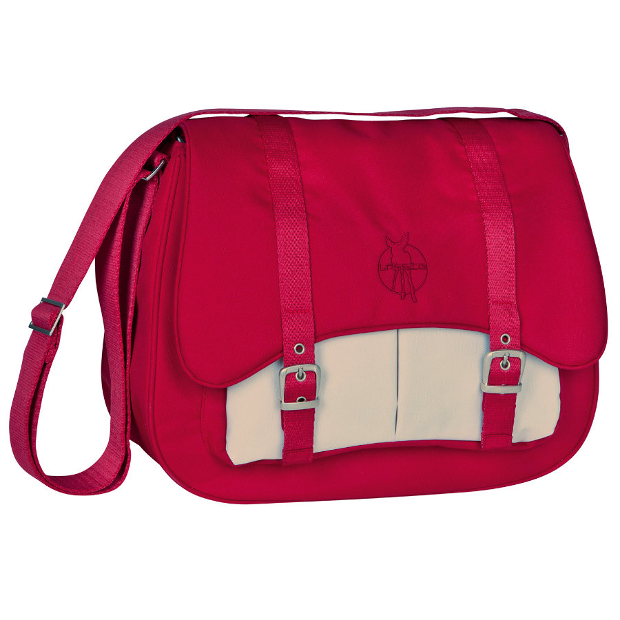 LÄSSIG Nappy Bag Casual Courier Bag flaming