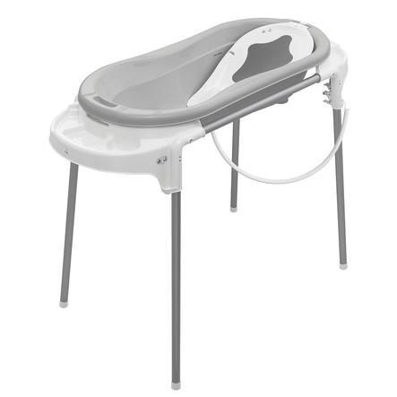 Rotho Babydesign Badestation Top Xtra silber grau
