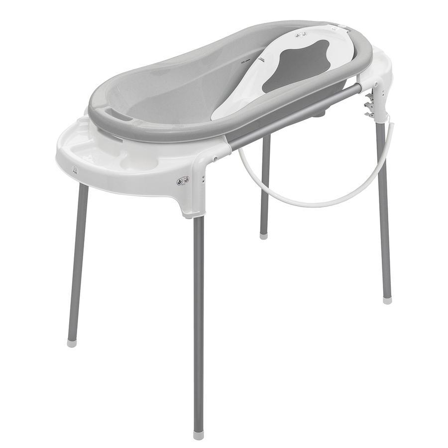 ROTHO Vaschetta da bagno con supporto TOP Xtra grigio