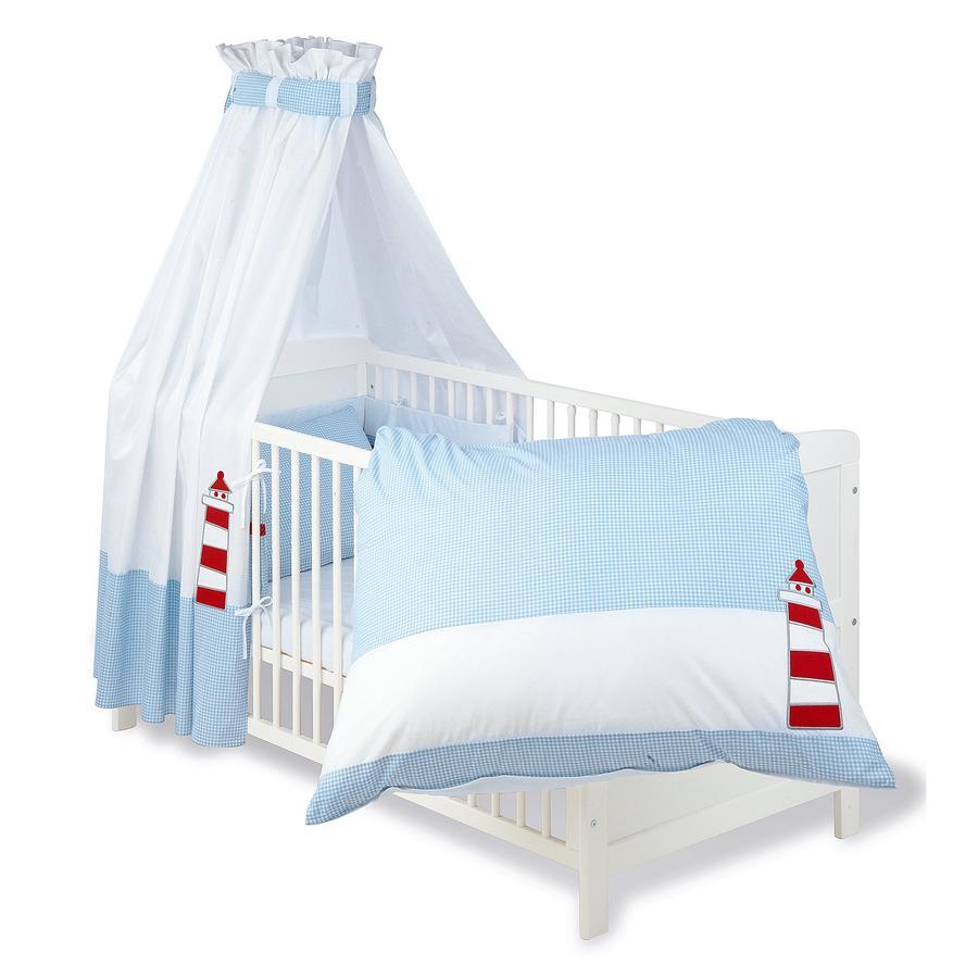 pinolino set f r kinderbett 4 tlg schiff ahoi baby. Black Bedroom Furniture Sets. Home Design Ideas