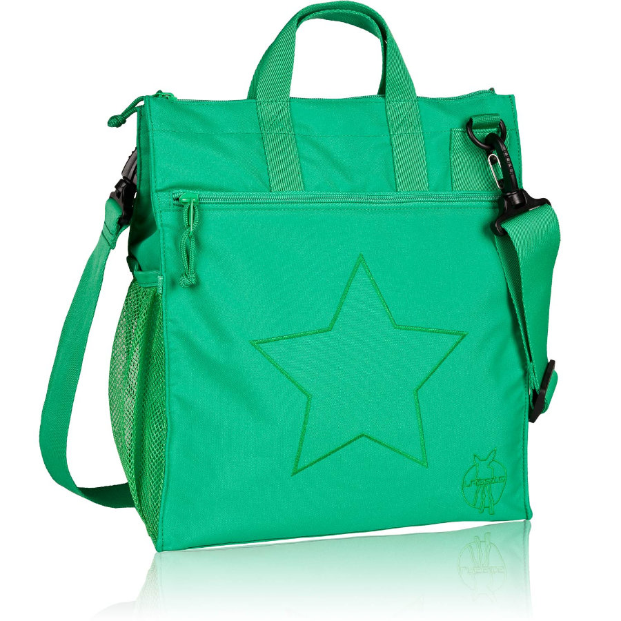 LÄSSIG Casual Buggy Bag Regular Star deep green