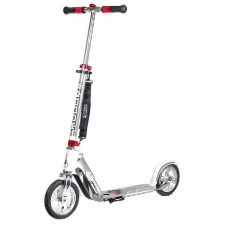 HUDORA Monopattino Big Wheel Air 205, argento/bianco 14005