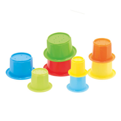 Bieco  stablepyramide - flerfarvet
