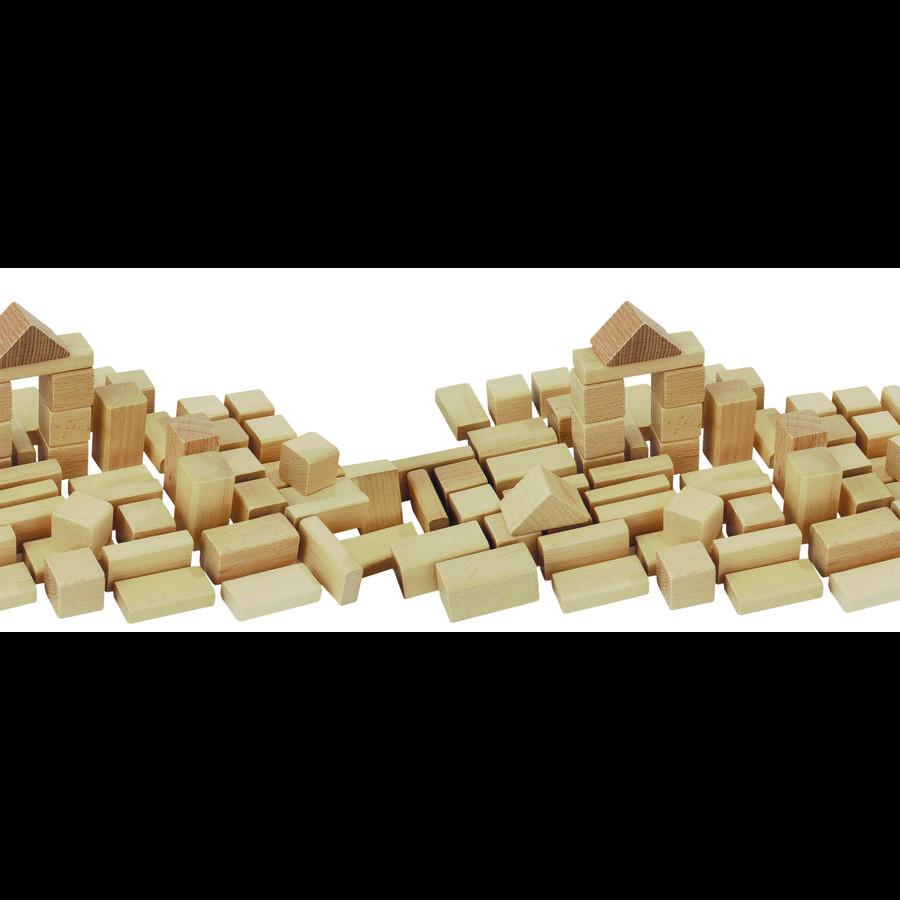 HEROS Natur-Holzbausteine 50