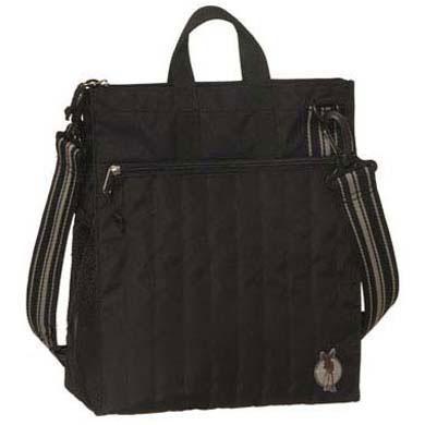 L�SSIG Luiertas Casual Buggy Bag Solid Black