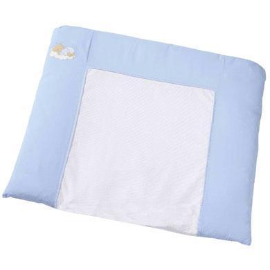 EASY BABY Aankleedkussen Sleeping bear, blauw (440-81)