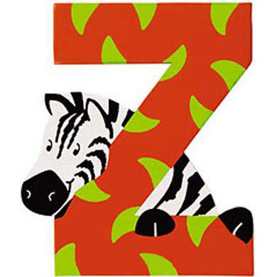 Sevi Tierbuchstabe Z - bunt