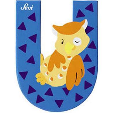 Sevi Tierbuchstabe U - blau
